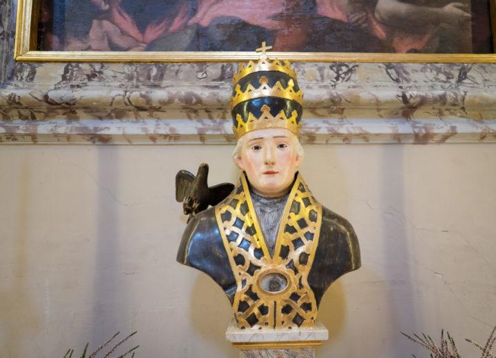 Busto di San Gregorio Magno